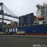 Ini Rute Pelayaran Kapal Raksasa yang Bersandar di Tanjung Priok