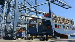Kapal Raksasa di Singapura Bersandar Setiap Hari