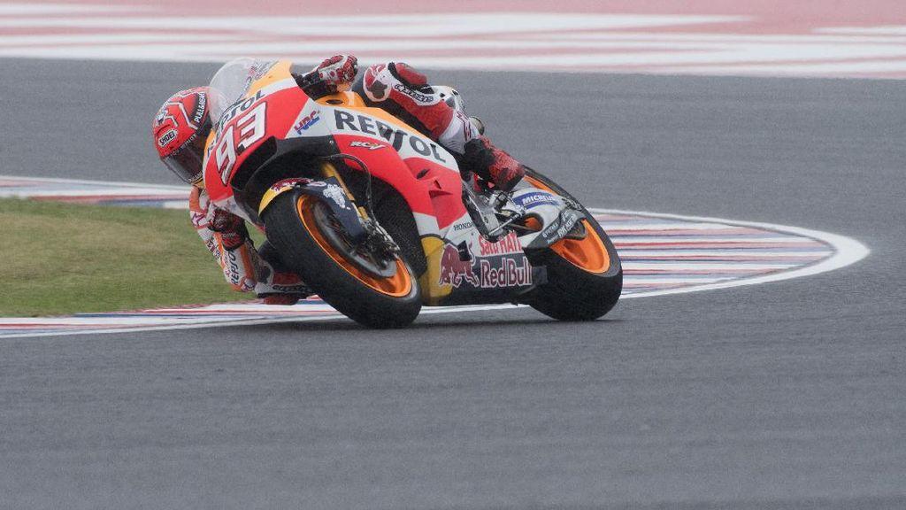 Marquez Rebut Pole Position MotoGP Austin