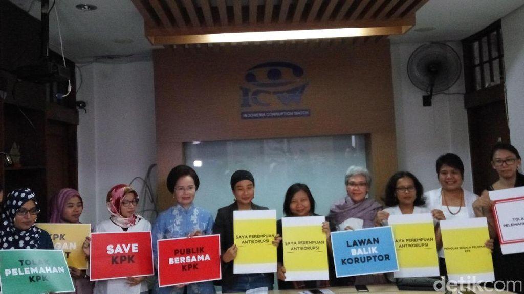 DPR Gulirkan Angket, ICW: Parpol Harusnya Tolak Pelemahan KPK