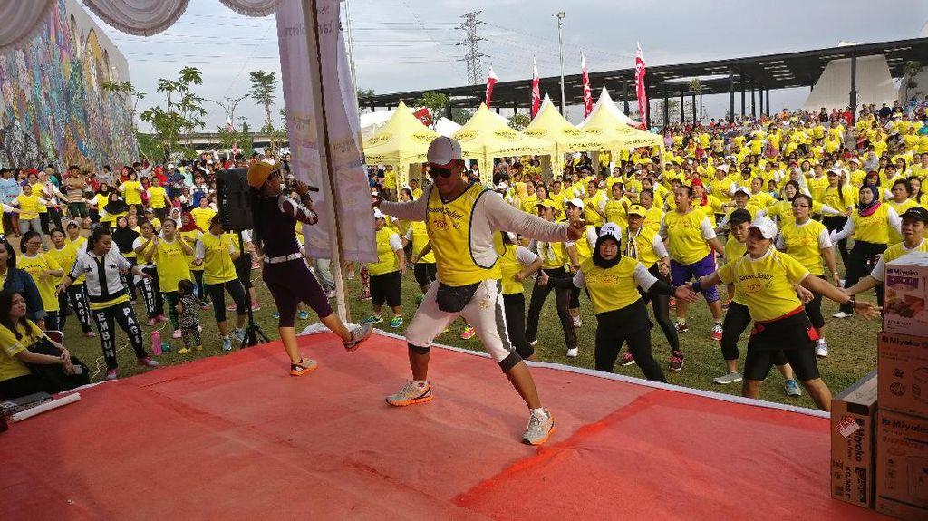 Mumpung Libur, Olahraga Pagi di Taman Yuk!