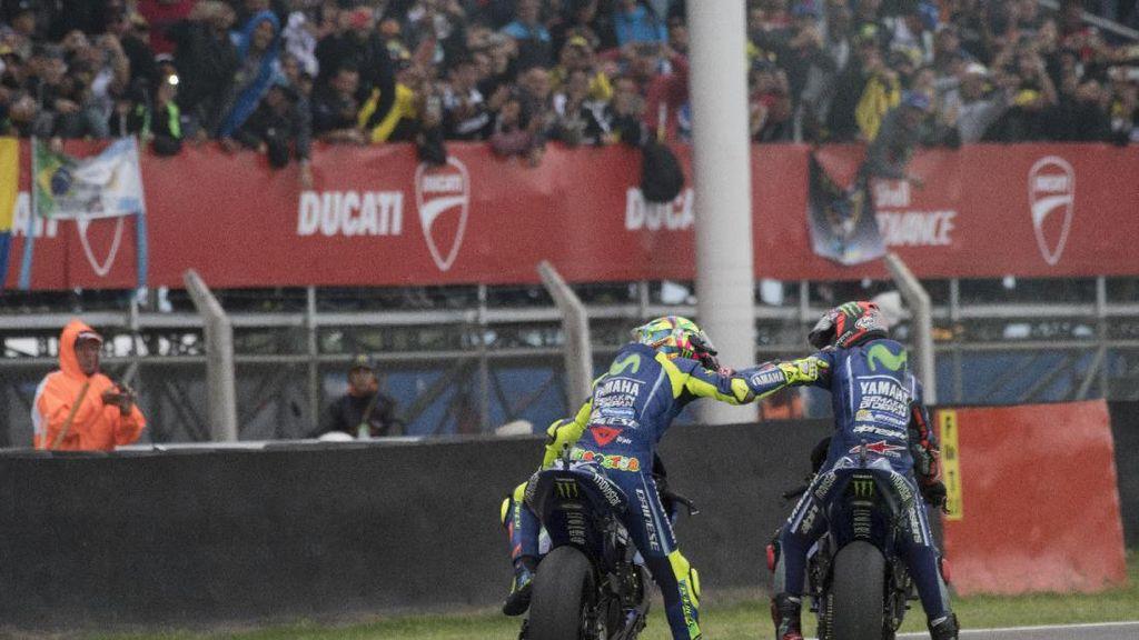 Hasil-Hasil Vinales dan Rossi di Silverstone Bikin Yamaha Pede
