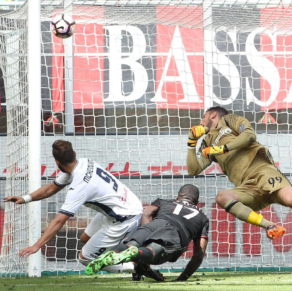 Milan Ditumbangkan Empoli di San Siro