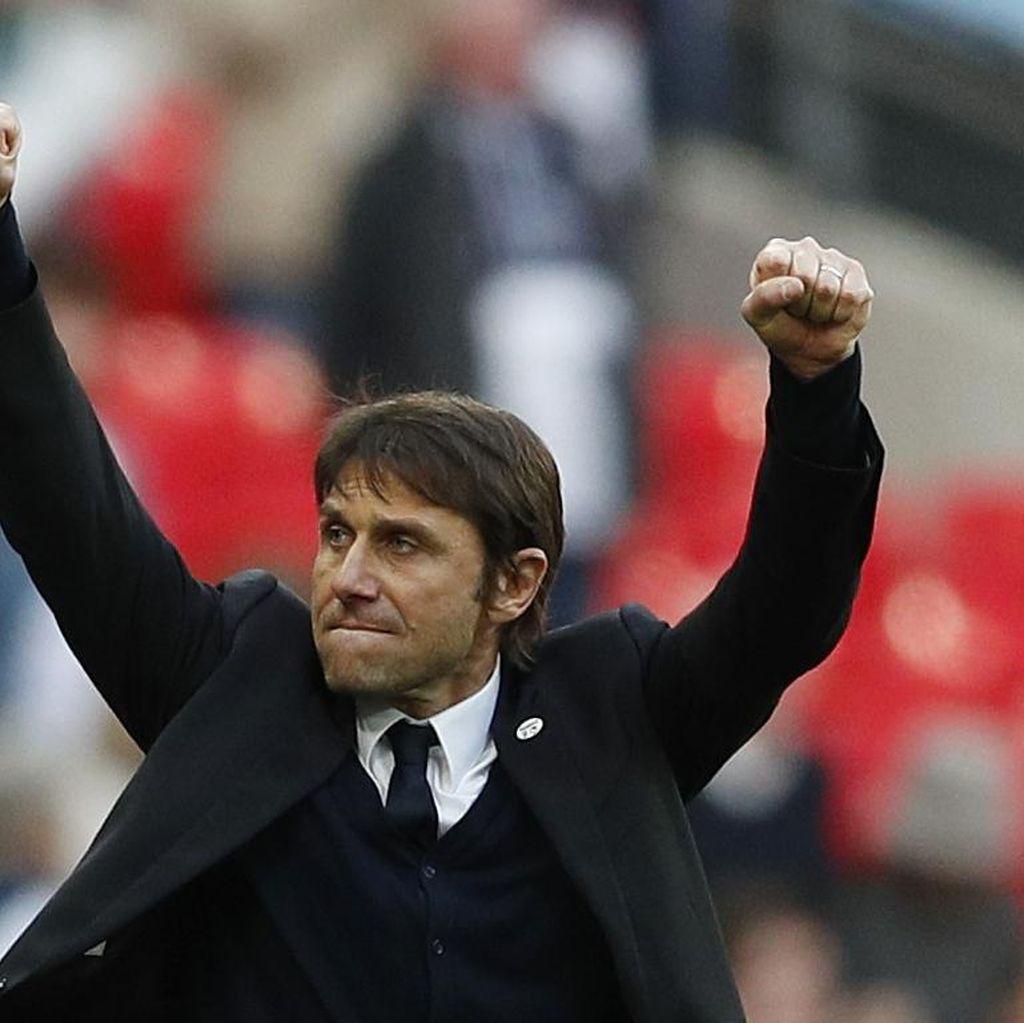 Klarifikasi Conte soal Perbandingan Juara di Chelsea dan Juventus