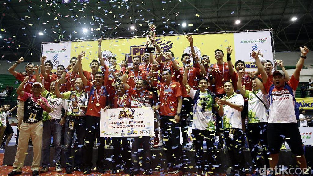 Putra Pertamina Energi Juara Proliga 2017