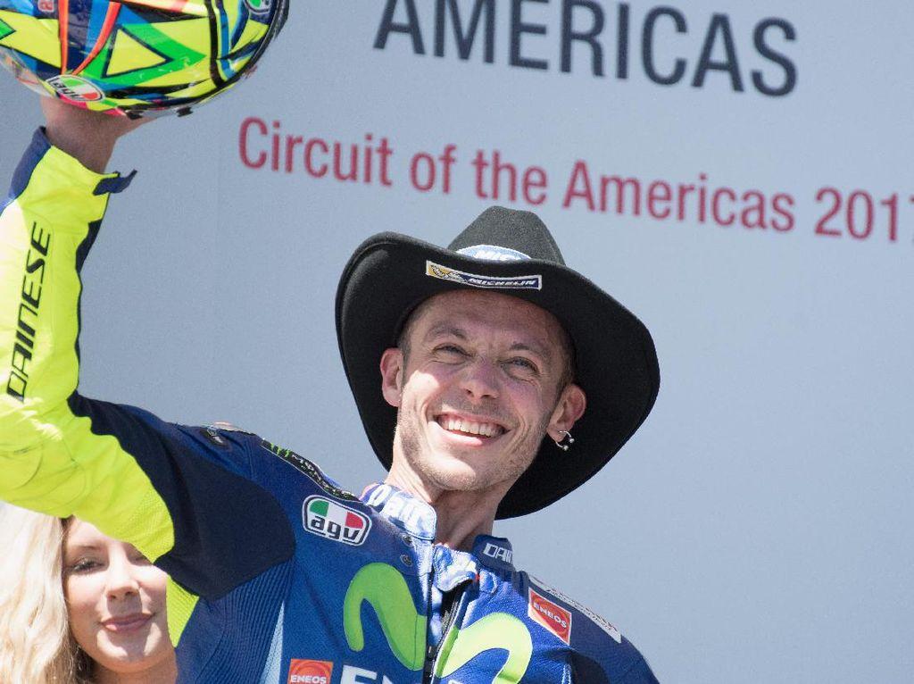 Rossi di Puncak Klasemen, Pertama Setelah Malaysia 2015