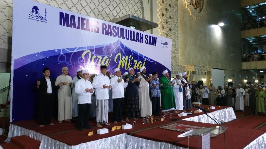 Peringatan Isra Miraj, Anies Sampaikan Peran Positif Anak Muda