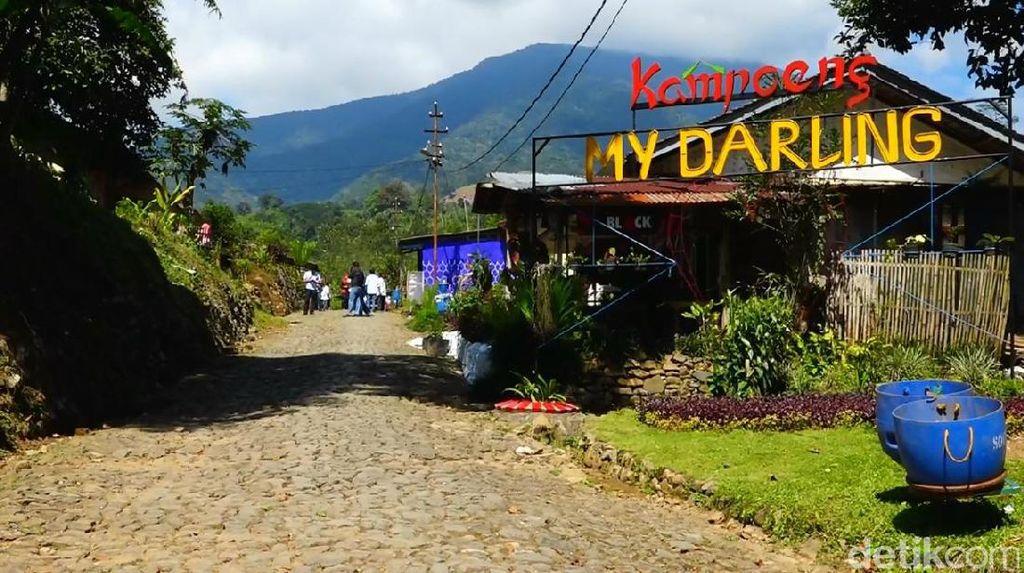 Cantiknya Kampung My Darling di Kaki Gunung Cikuray Garut