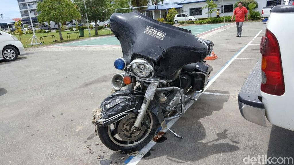 WNI Pengendara Moge Tewas Kecelakaan di Sabah