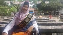 Kisah Yasmin, Gadis Berkebutuhan Khusus yang Jadi Duta Literasi Anak