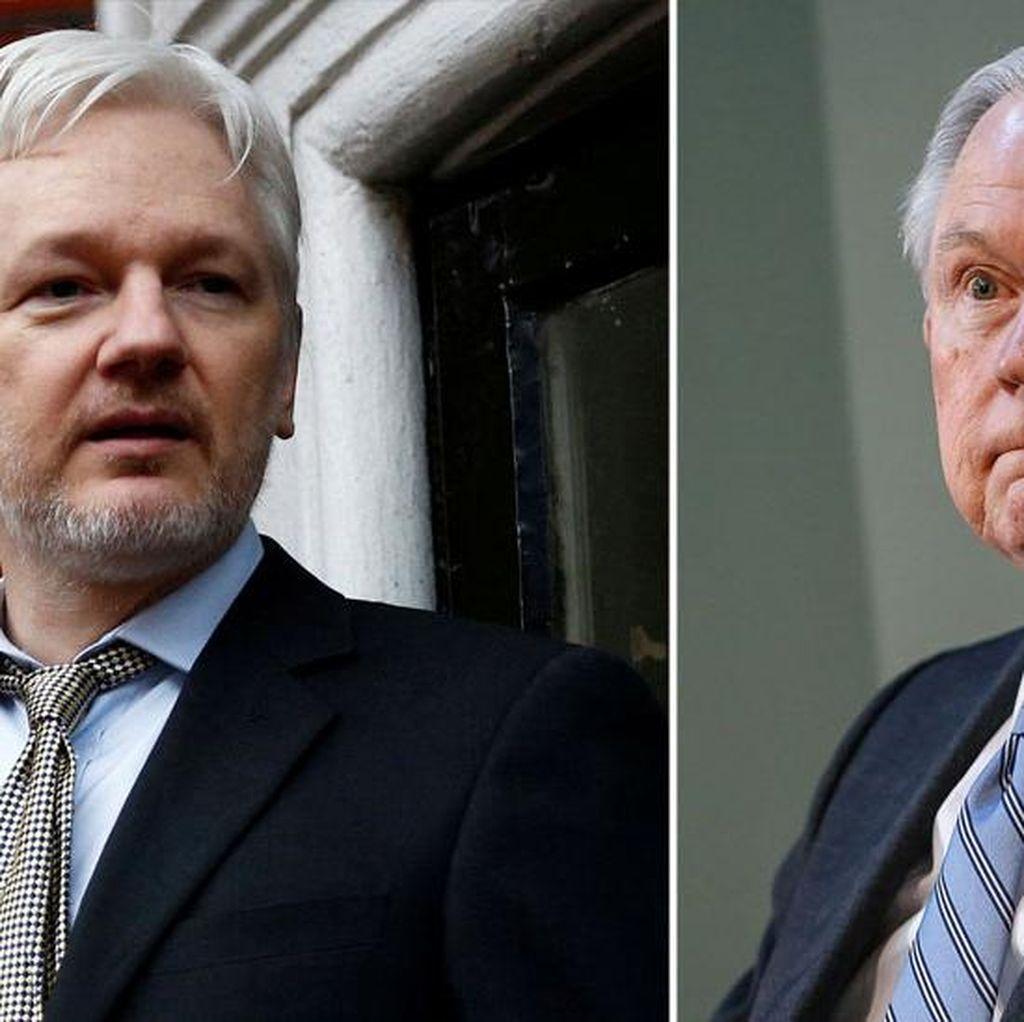 Trump Putar Haluan, Jadikan Penangkapan Pendiri WikiLeaks Prioritas