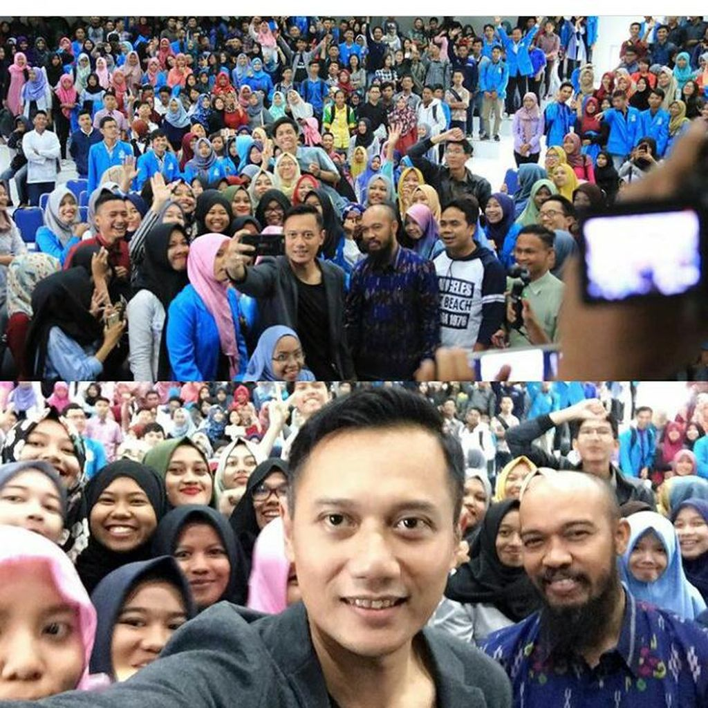 Gerilya Agus Yudhoyono di Kepri: Kuliah Umum hingga Ziarah