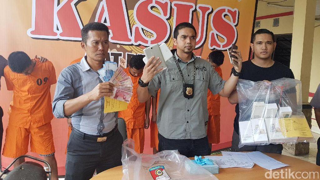 Polisi Tangkap Pelaku Pembobol Toko Ponsel di Serang