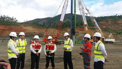 Proyek Pabrik Feronikel Haltim Mulai Digarap
