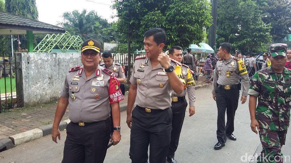 Wakapolda Metro Jaya Pantau Pengamanan Sidang Ahok
