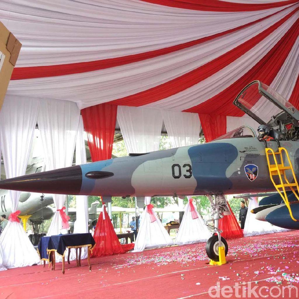 Pesawat Tempur F-5 Tiger Kini Jadi Monumen di Yogyakarta