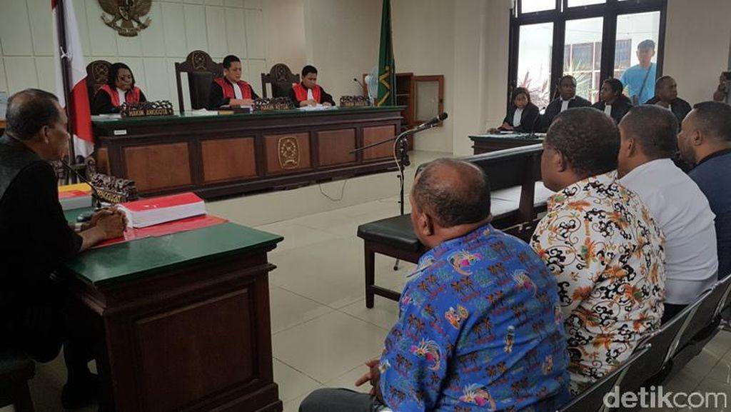 19 Kepala Distrik Jayapura Divonis Percobaan 6 Bulan Terkait Pilkada