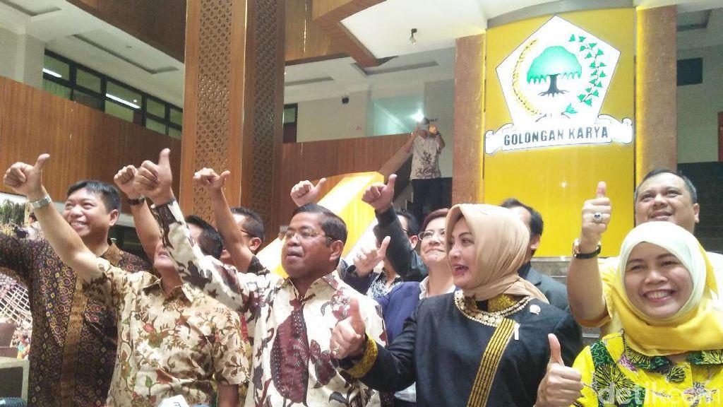 Golkar Tegaskan Solid dan Tak akan Gelar Munaslub Terkait Novanto