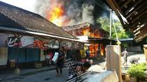 Kebakaran Toko Mebel di Bali Sisakan Kerugian Hingga Rp 2 Miliar