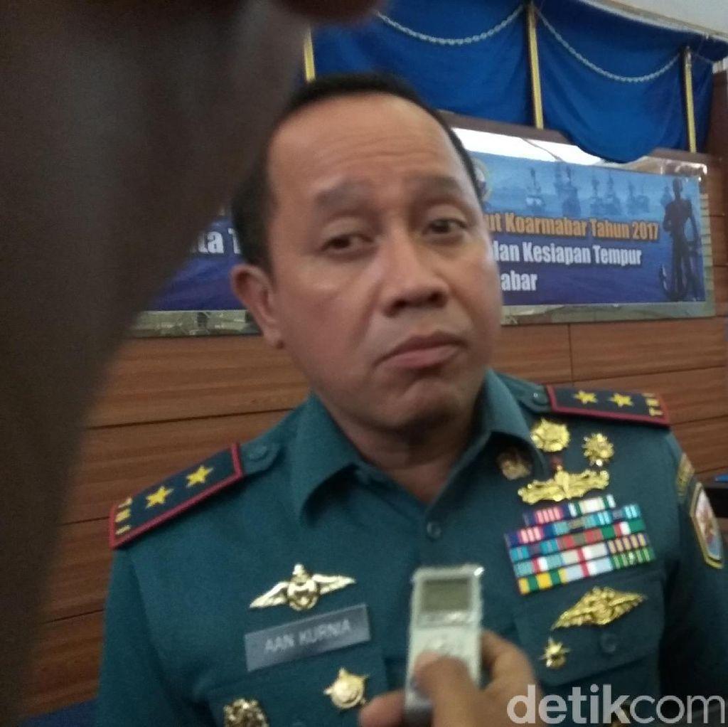 TNI AL Gelar Latihan Siaga Tempur di Laut Natuna