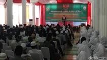 Jokowi Temui Ulama Sekaligus Peringati Isra Mikraj di Purwakarta