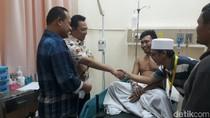 Kapolda Banten Besuk Polisi yang Ditembak Begal di Tangerang