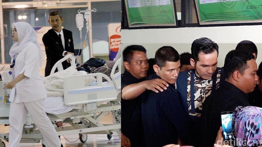 Kondisi Jupe Usai Cuci Darah, Belasan Bodyguard Kawal Atalarik