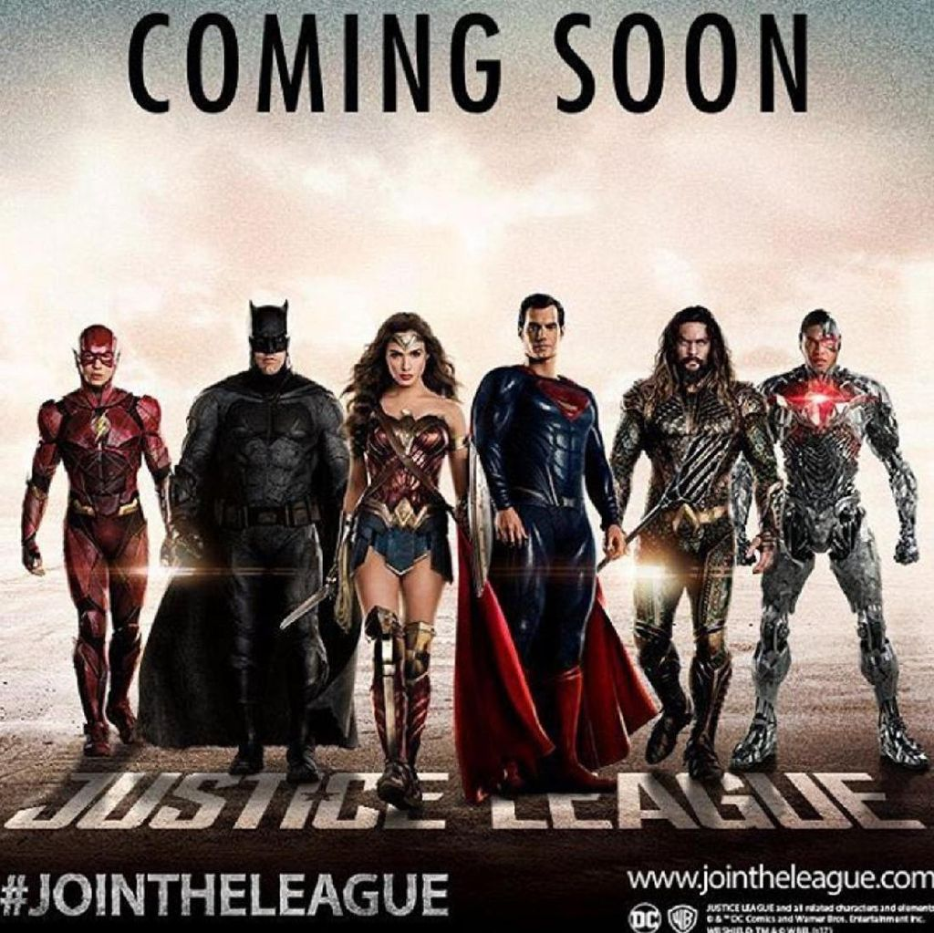 DC Entertainment Luncurkan Poster Justice League