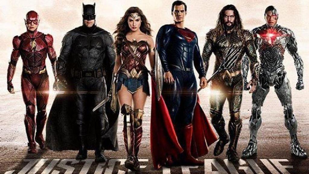 Syuting Ulang Justice League Habiskan Jutaan Dolar