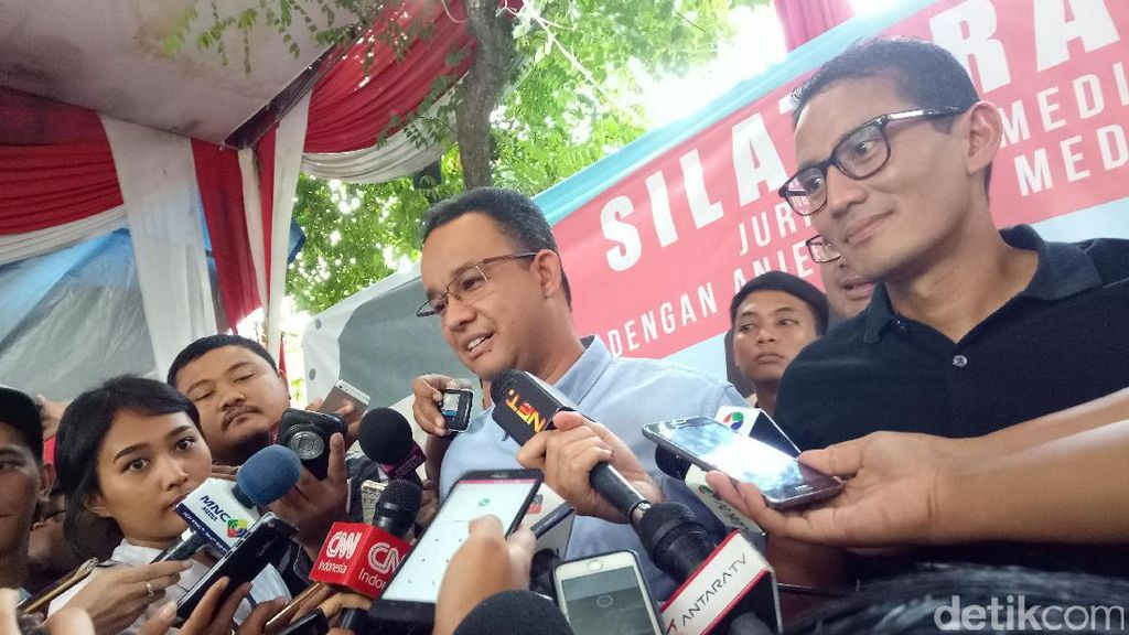 Anies Yakin APBD DKI Cukup untuk Jalankan Janji Kampanyenya