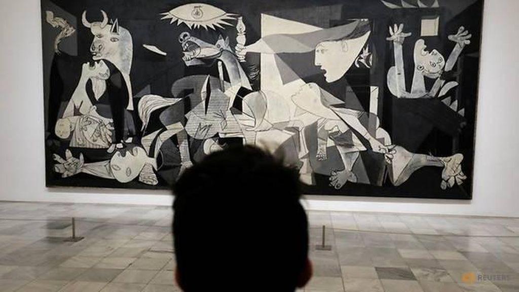 Lukisan Mahakarya Pablo Picasso Dipajang di Spanyol