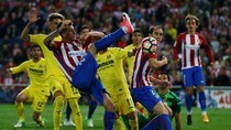 Atletico Ditumbangkan Villarreal 0-1