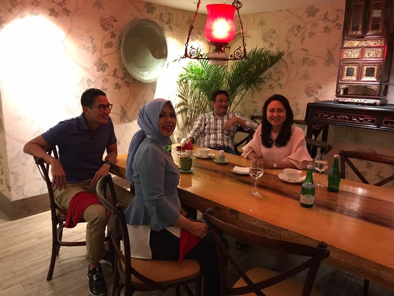 Sandiaga Ajak Gabung di Forum Musyawarah, Djarot: Belum Tertarik