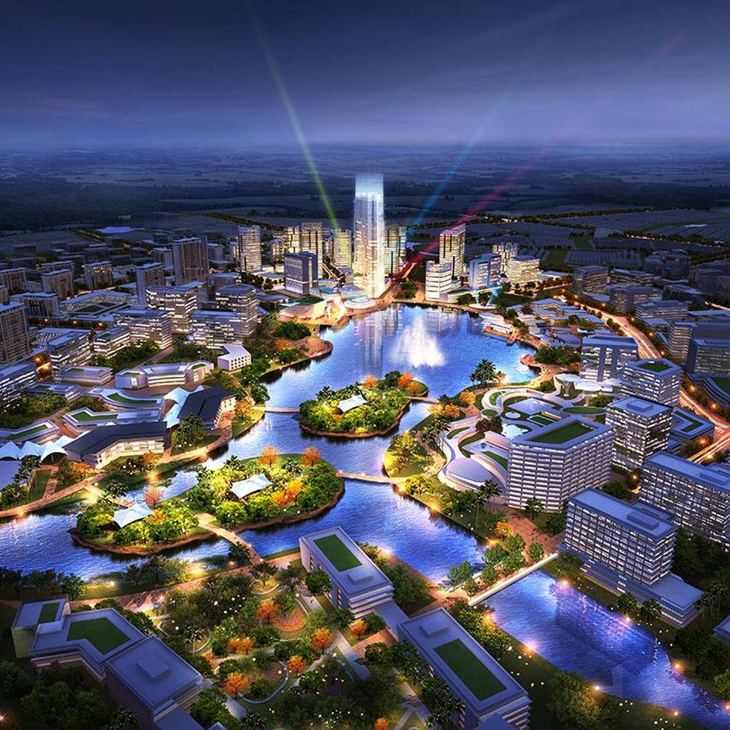 Kota Mandiri Masa Depan Hadirkan CBD dan Hunian di Satu Kawasan