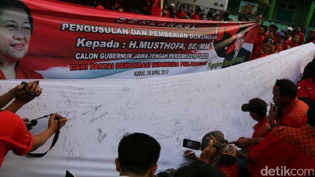 Didukung Kader PDIP, Musthofa Mengaku Fokus Jalankan Tugas  Hingga Usai