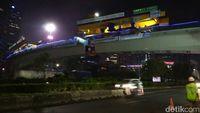 Jalan Layang Simpang Susun Semanggi Jadi Kado Kemerdekaan RI