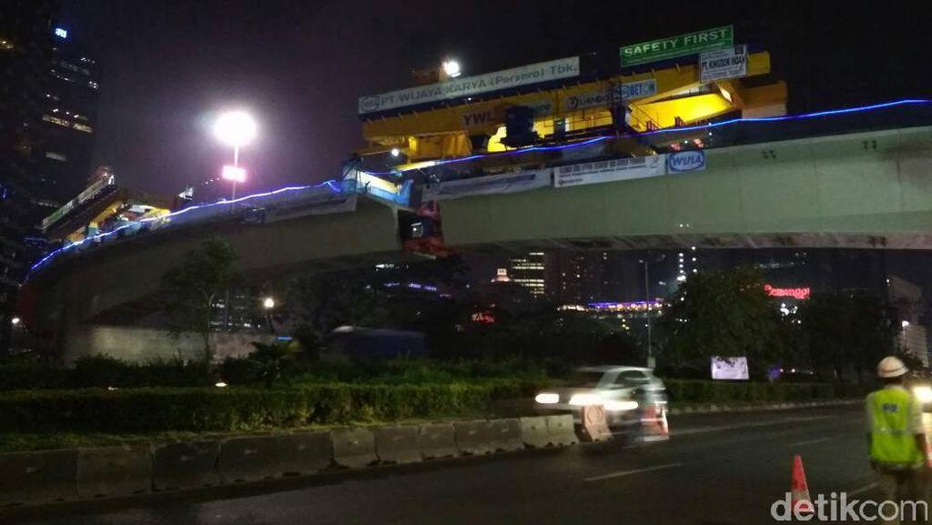 Proyek Simpang Susun Semanggi Rp 345 M Itu Akhirnya Rampung