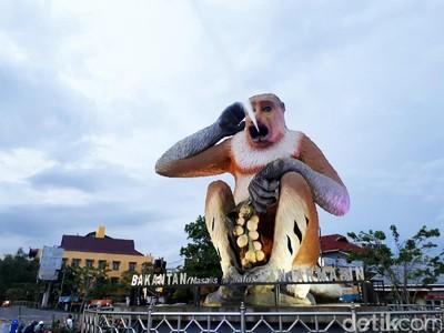 Singapura Punya Merlion, Banjarmasin Punya Bekantan