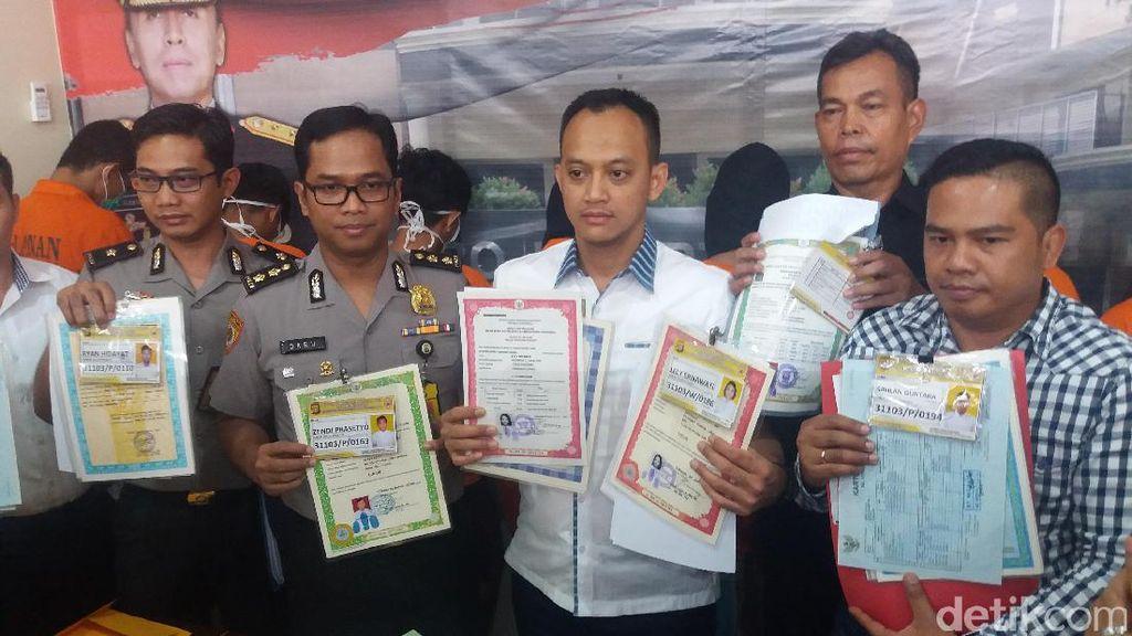 Pakai Ijazah dan Akte Palsu, 7 Pendaftar Bintara Polri Ditangkap