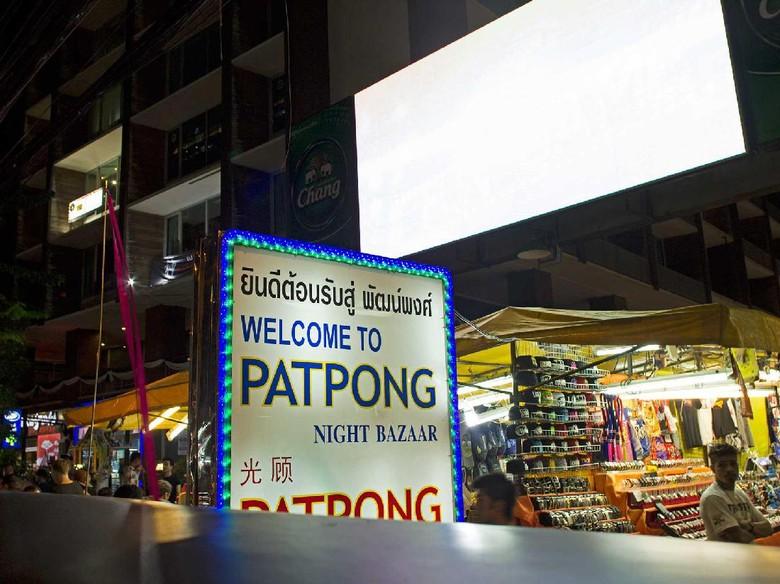 Ini Pasar Malam Paling Seksi di Bangkok