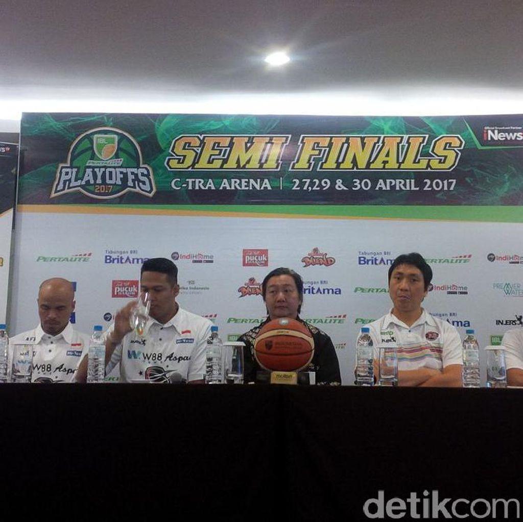 Aspac dan Pelita Jaya Sama-Sama Siap Berduel di Bandung