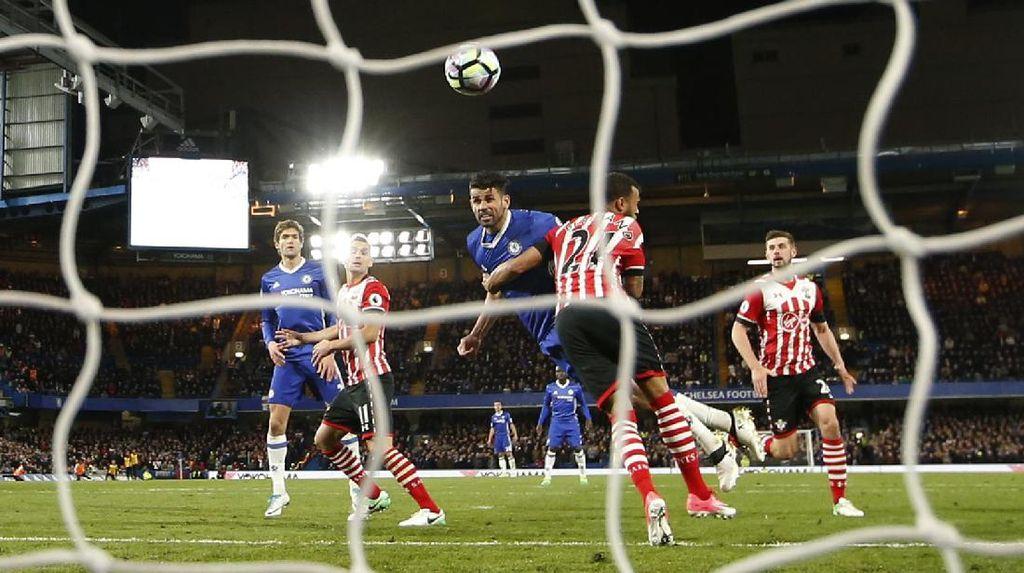 Diego Costa Dua Gol, Chelsea Kalahkan Southampton 4-2