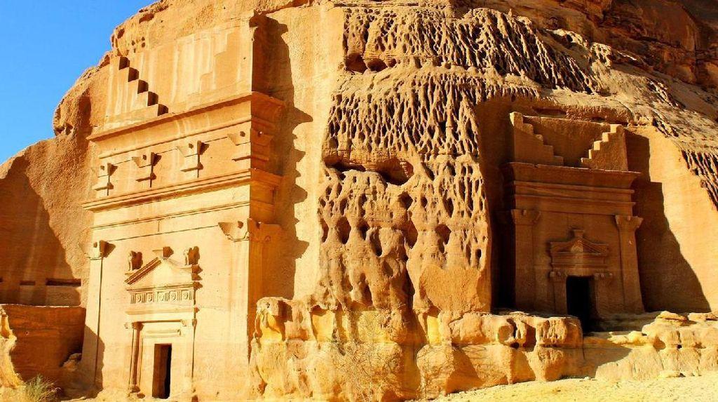 Kamu Pasti Belum Tahu, Istana dari Batu di Arab Saudi