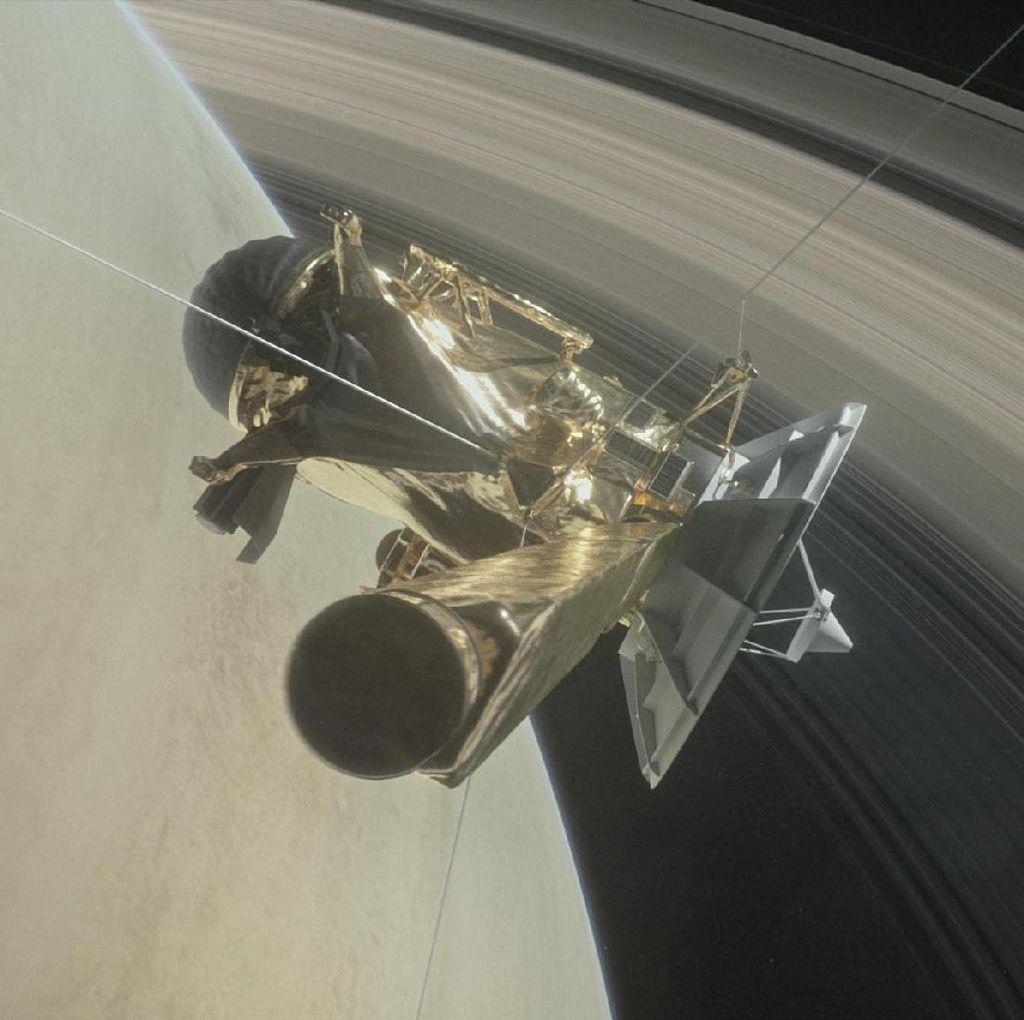 Ini Alasan NASA Akhiri Misi 20 Tahun Pesawat Luar Angkasa Cassini