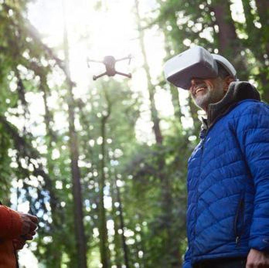 DJI Goggles, Headset Canggih Pengontrol Drone