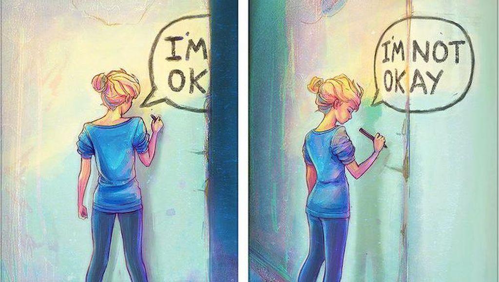 Destiny Blue Lawan Gangguan Mental dengan Melukis
