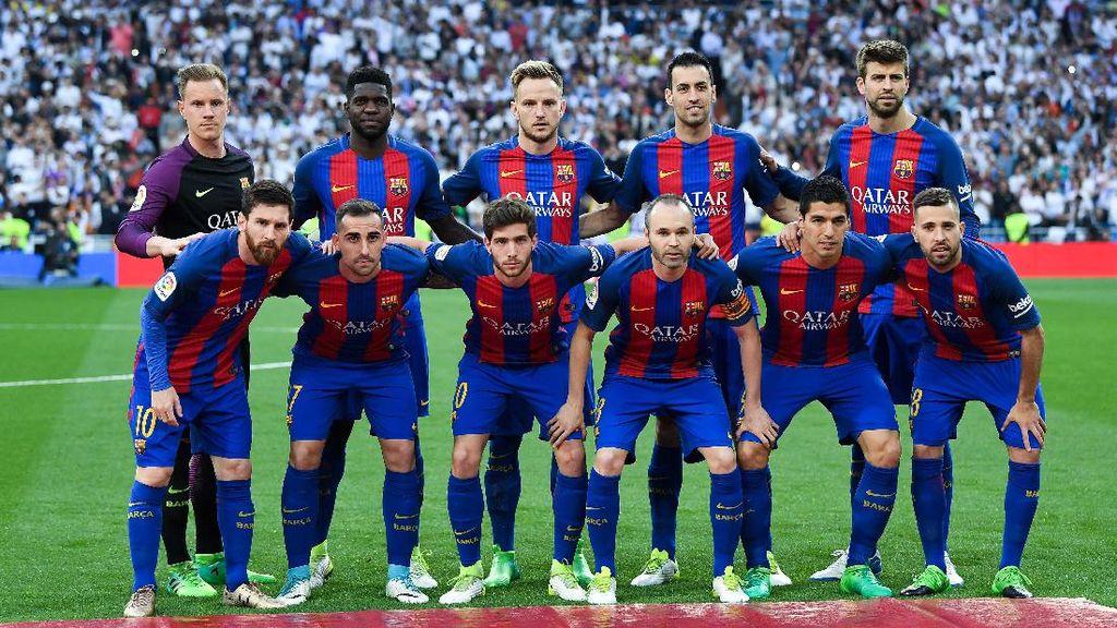 Barca Tembus 100 Gol, Paling Subur di Lima Liga Top Eropa