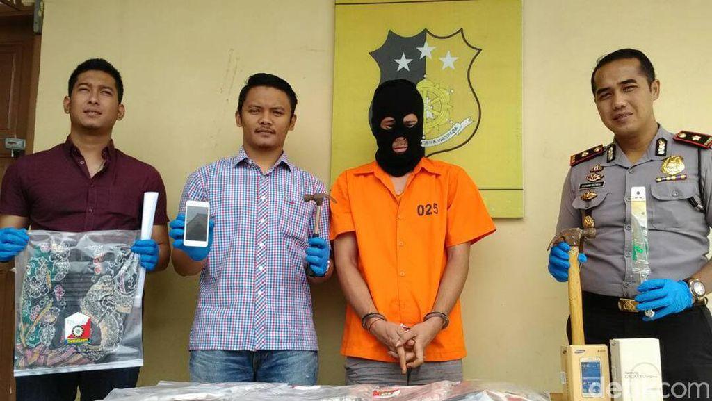 Bobol Rumah Tetangga, Wendy Ditangkap Polisi