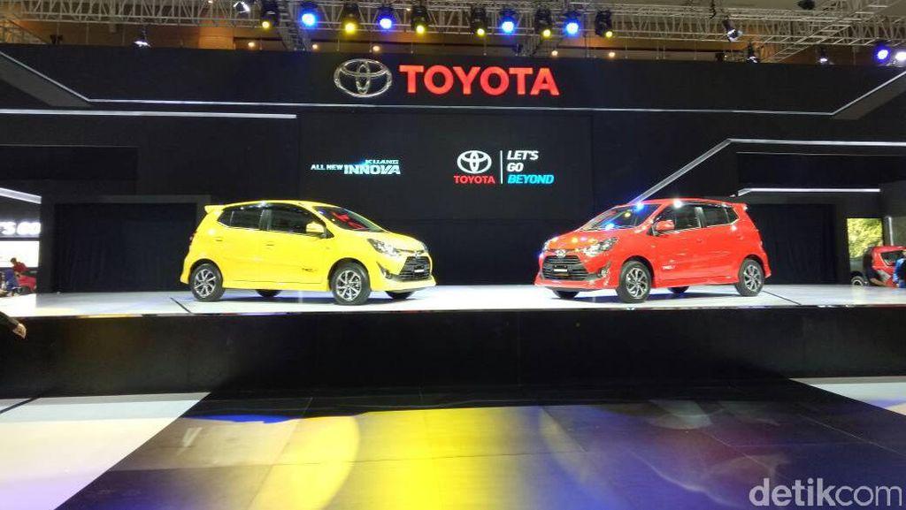 Toyota: Agya Kelasnya Sudah Naik