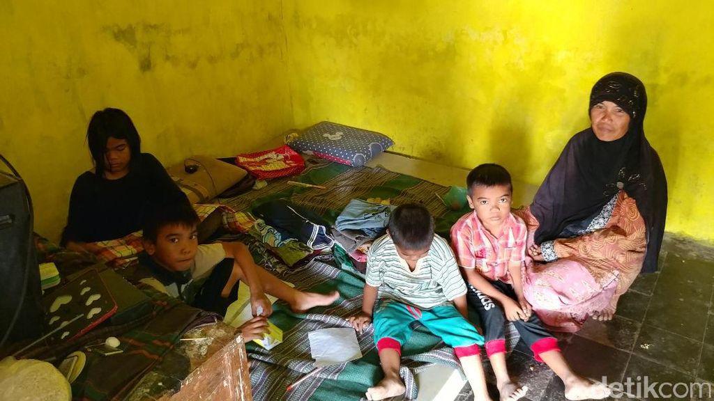 Tinggal di Rumsong Dekat Sekolah, Empat Anak Ini Putus Sekolah